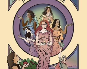 Illuminating Ladies: A Coloring Book of Mormon Women 25 Illustrations & Biographical Sketches of Women of the Restoration