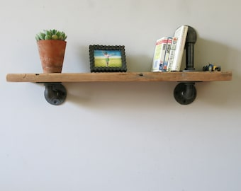 Industrial style shelf