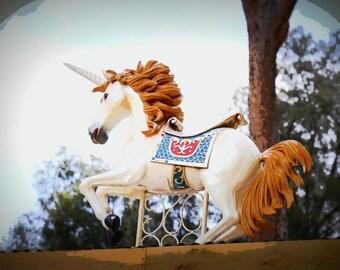 Unicorn Rocking Horse - Wall Art, Photo Print, Photographic Art, Home Decor, Photographic Print, Colour, Adelaide Fringe