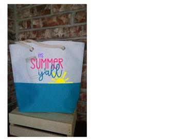 Summer Tote/ Beach Bag