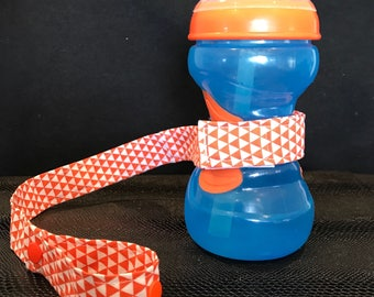 Sippy Cup Leash, Sippy Cup Holder, Sippy Cup Strap, Bottle Holder, Toy holder, Bottle Leash