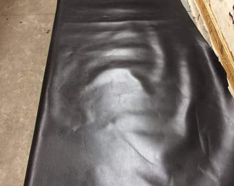 Cowhide Black Leather Hide, 1.4-1.6 mm, high quality genuine leather skin, leather accessories, leather shop, leather hide, leather skin