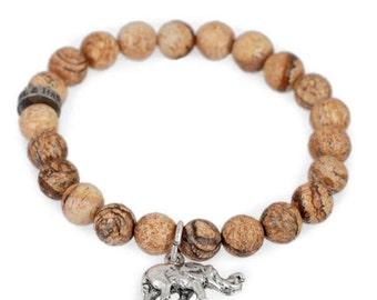 Elephant Charm Bracelet