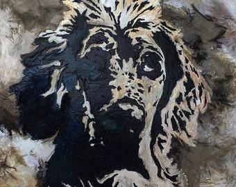 "48"" x 48"" - Custom Pet Portrait"