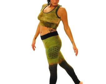 Womens Pants - Organic Pants - Boho Pants - Yoga Pants - Hippie Pants - Gypsy Pants - Hand Dyed Pants -Limited Edition