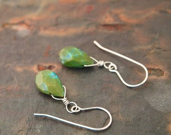 Turquoise Drops Earrings
