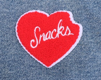 Snacks Chenille Patch