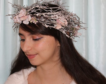 Fairy Crown Silver Headpiece Tiara