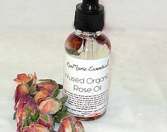 NEW Organic Infused Rose Oil