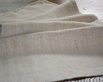 Vintage Linen Grain Sack, European Grainsacks, French Country Decor, Antique Textile, Grain sack pillows