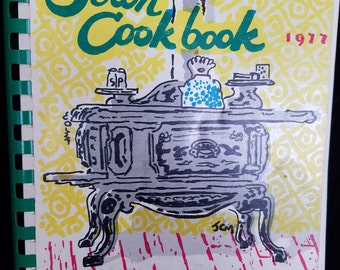 First Edition Seton Cookbook 1977 - Rochester NY