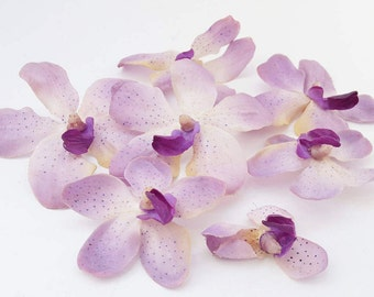 Lavender Orchids | Purple Spotted Flower Heads | Wedding Flowers | Scrapbook | Millinery Flowers | Wreath Supplies | Crafts | The Blue Hutch