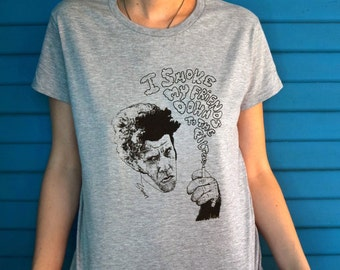 Tom Waits Custom T-Shirt