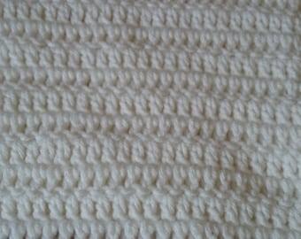 Baby Blanket for Girl handmade with soft acrylic yarn