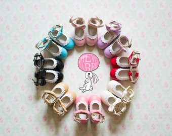 Cute Lace Bow Lolita Shoes for Blythe Pullip Dal Azone Jerryberry in 8 colors! So Kawaii!