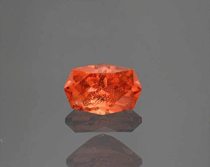 Excellent Rare Bright Orange Triplite Gemstone from Pakistan 1.41 cts.