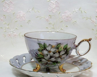 Vintage Trimont Ware Teacup and Saucer
