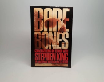 First Edition 1st Printing Bare Bones: Conversations on Terror with Stephen King - McGraw-Hill, 1988 - Paperback Book