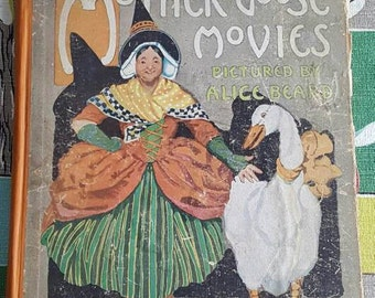 Antique Mother Goose Movies Book 1917   D303