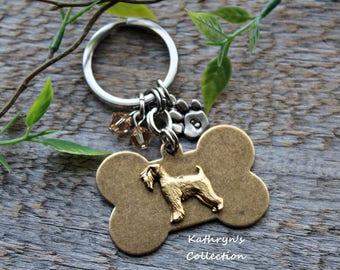 Wheaten Terrier Key Chain