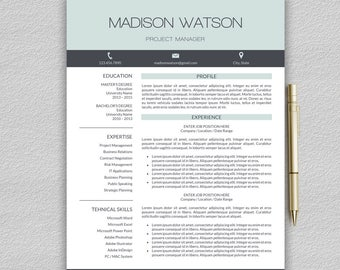 professional resume template word cv professional modern resume template for word modern cv