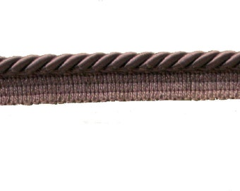 Brown Flange Cord, 8 mm