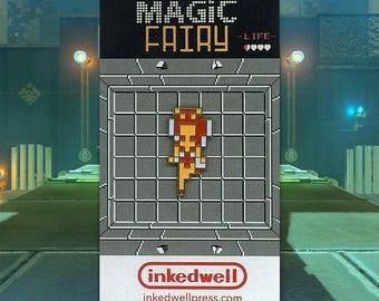 Magic Fairy Enamel Pin (Legend of Zelda)