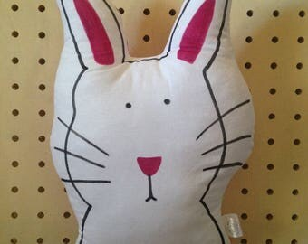Clearance - Rabbit - Rabbit Cushion  - Rabbit Pillow - Cushion - Bunny - Bunny Cushion - Bunny Pillow