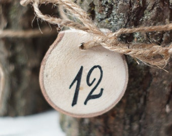 Wood Table Numbers Wedding Decorations,Rustic wedding table numbers,wooden table numbers,barn wedding,boho wedding,beach wedding,