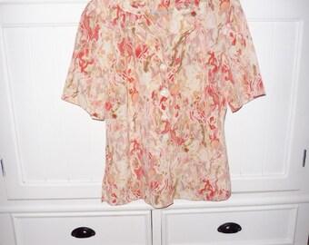FRANZISKA blouse size 38 en - 1980s