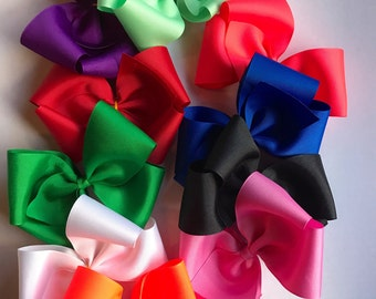 Boutique Hair Bows/ 5.5 inch Boutique  HairBows/