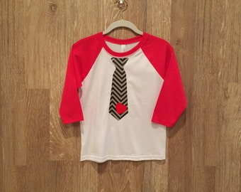 Boys Neck Tie T-shirt