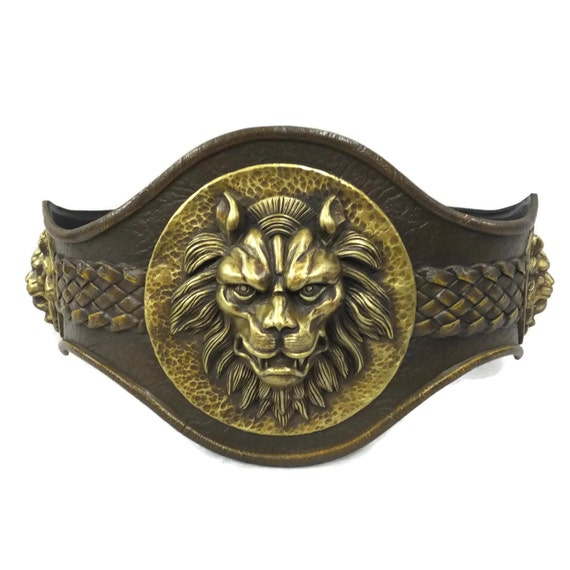 Larp Armor, Classical Lion Belt