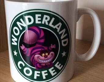 Cheshire Cat ; Wonderland Coffee Mug