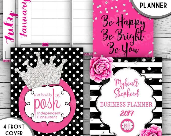 2017 DIGITAL BUSINESS PLANNER - Perfectly Posh Inspired, Direct Sales Inspired Business Planner, Motivational, Goal Planner, Organization