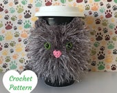 Crochet Cat Pattern - Crochet Pattern Cat - Cat Crochet Pattern - Crochet Cat - Crochet Animal Patternn - Amigurumi Cat Pattern