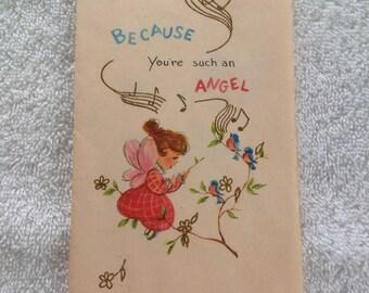 Vintage Birthday card ( unused)