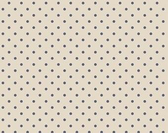 1 Yard Les Petits  by Amy Sinibaldi for Art Gallery Fabrics - Petits Dots - 711 Creme