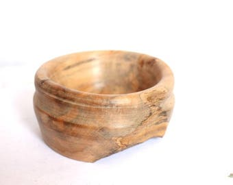 Australian Beech Wood Turned Bowl