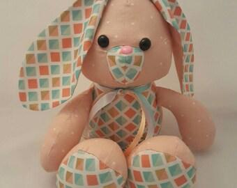 Sweet, floppy Easter bunny rabbit /stuffed animal/ softie/ plushie