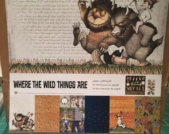 Where the Wild Things Are paper crafting kit