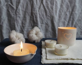 Six Laundry Day Scented Soy Wax Tealights