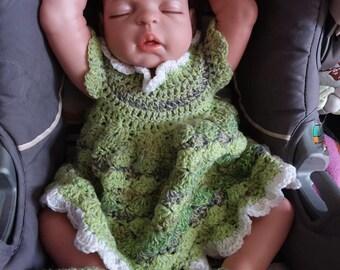 Handmade crochet set