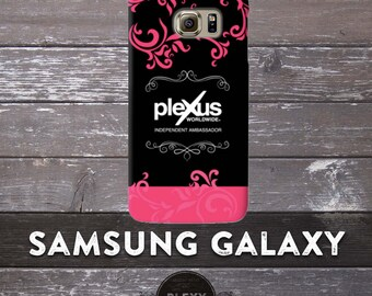 Chic Black & Pink Plexus Samsung Galaxy Phone Case