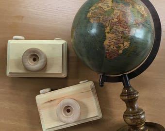 Colin's Camera: Natural Wood Edition