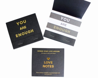 You Are Enough Love Notes