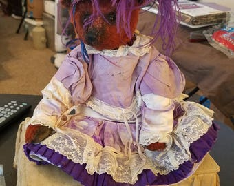 Portobello Bear, by Amy Goodrich..  Civil War Era Doll Clothes...!!