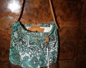 Gypsybag - ethnic bag - turquoise