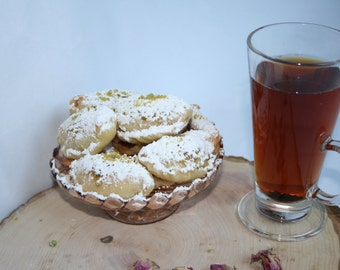 Almond filled pastry, Ghotab