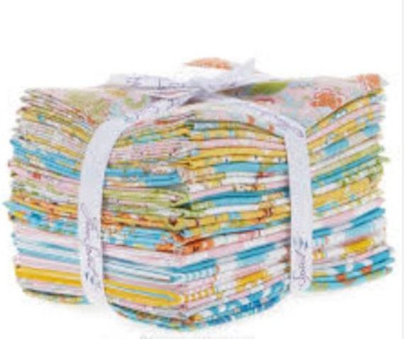 Butterfly garden fat quarter bundle by dena designs for for Butterfly garden designs free